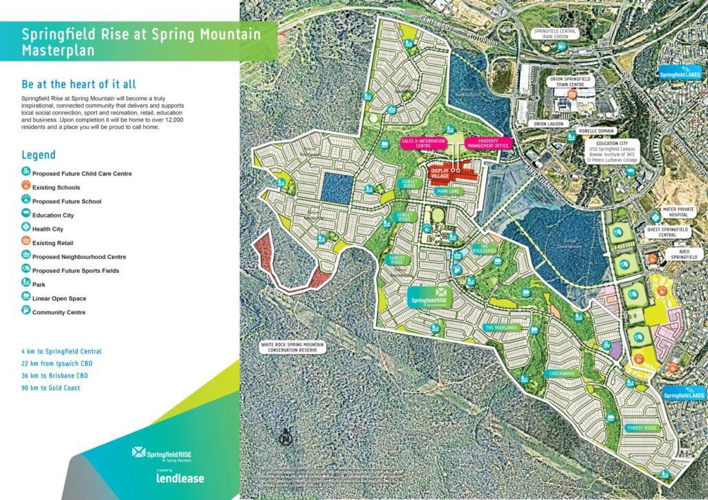 Springfield Lakes Masterplan