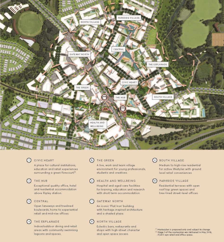 Proposed Ripley Town Centre