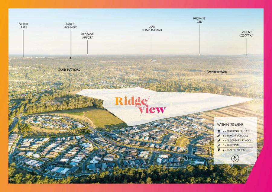 Aerial photo Ridgeview